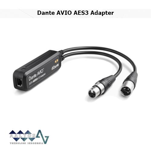 Dante AVIO AES3 Adapter